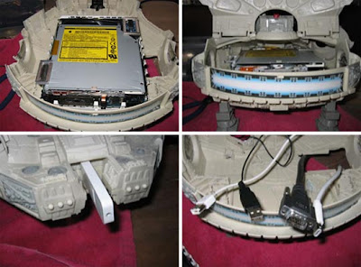 Millennium Falcon Mac mini (3) 3