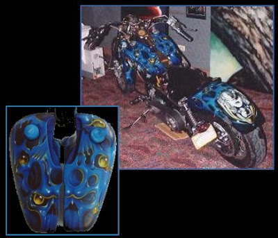 Custom Painted Bikes (15) 15