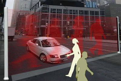 Next-Gen Traffic Light Concept: Virtual Wall (3) 1