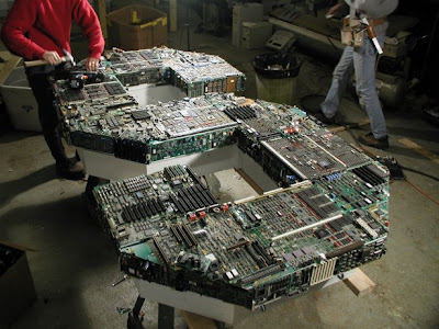 Billboard Make Of Computer Parts (7) 3