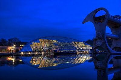 The Only Rotating Boatlift In The World - The Falkirk Wheel (11) 6