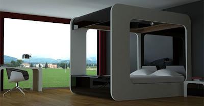 Hi-Can Canopy bed