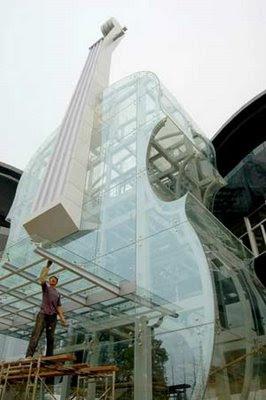 Buildings shaped like piano & violin (2) 1