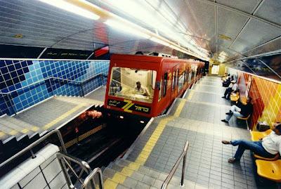 unusual subway in Israel
