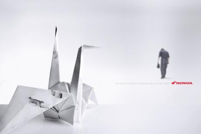 Clever and Creative Origami Advertisements(15) 15