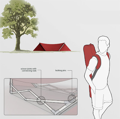 Tent That Turns Into A Hammock (3) 2