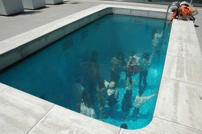 Swimming Pool Installation In 21st Century Museum Of Art Of Kanazawa (7) 2
