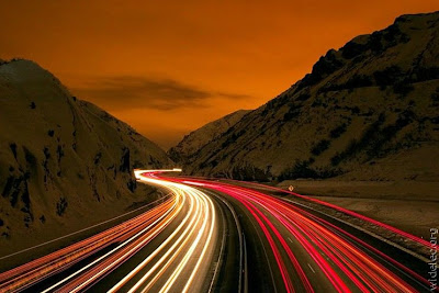 Amazing Light Trail Photographs (11) 1