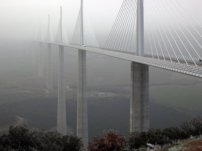 The Tallest Vehicular Bridge In The World - The Millau Viaduct (11) 5