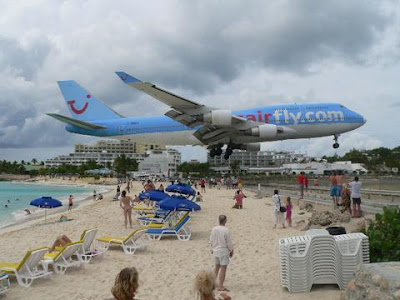 Maho Beach And Its Low Flying Planes (10) 4