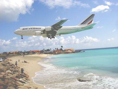 Maho Beach And Its Low Flying Planes (10) 9