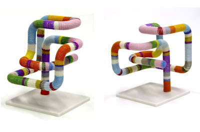 Sweater-Inspired Sculptures And Floor Lamp (3) 1