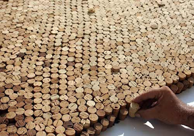 World's Biggest Cork Mosaic (7) 3