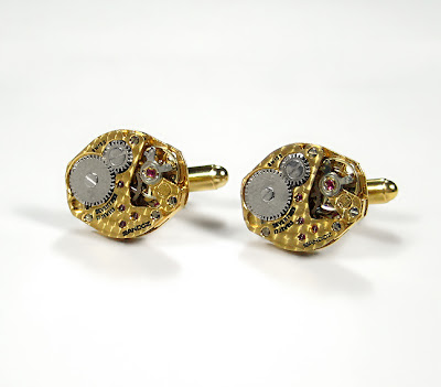 Handmade Luxury Designer Watch Cufflinks (9)  8