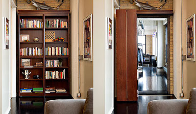 Woodfold Bookcase Doors