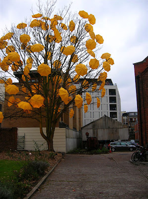 Umbrella Art Installations (30) 7