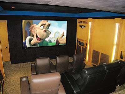 36 Creative and Cool Home Theater Designs (70) 23