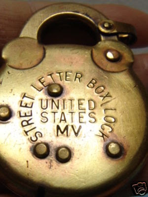 United States Street Letter Box Lock