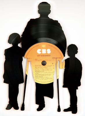 Creative and Cool Ways To Reuse Old Vinyl Records (50) 18