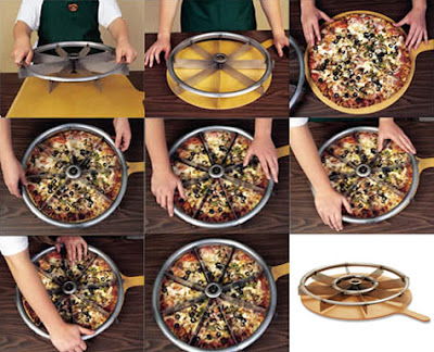 Equalizer - Multi-Blade Rocker Pizza Cutter