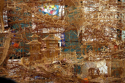 Toothpick Sculptures (21) 11