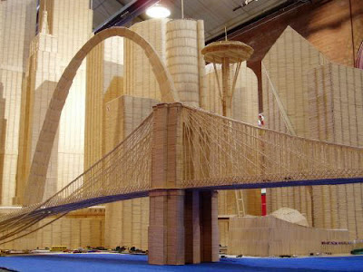 Creative and Cool Toothpick Sculptures.