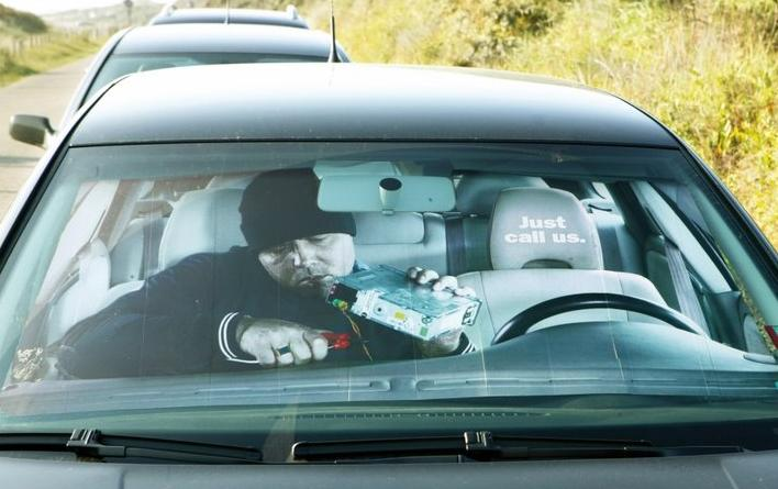 Funny Car Window Paintings