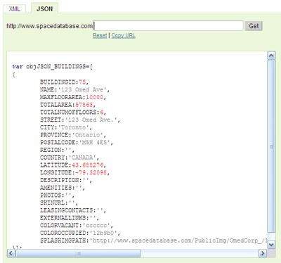 Space Database Blog: API: Get Building Details
