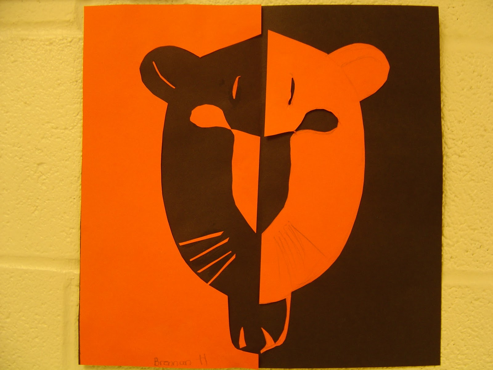 Sinking Springs Art 5th Grade Positive And Negative Space