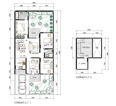 kata-kata online: gambar denah rumah minimalis modern