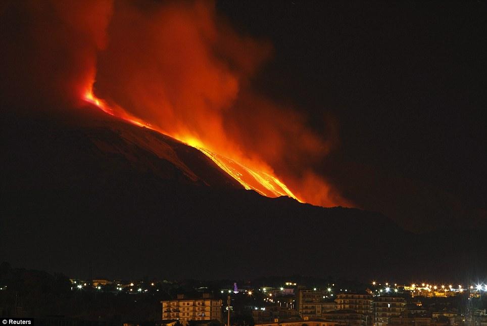 Pix Grove Mt Etna Volcano