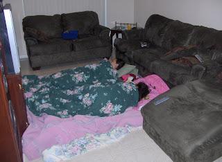 girls sleep over
