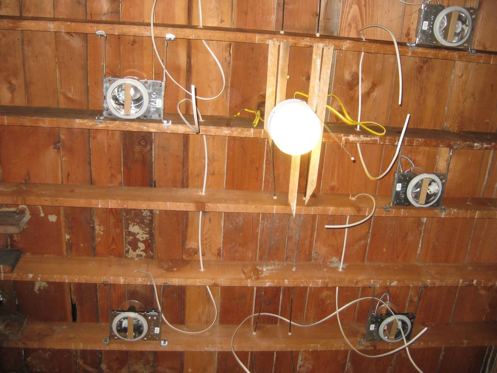Recessed Ceiling Lights Wiring Diagram