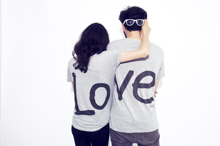 Fashion For Couples... New LOVE T-shirt From The LOFT ...