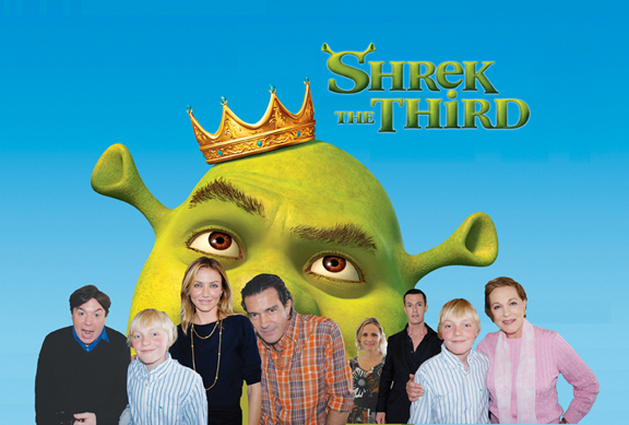 Best Movie 2011 Shrek The Third 2007 Dreamworks 3d Animation