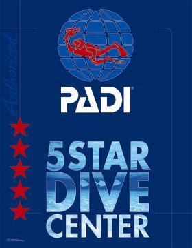 PADI 5 Star Centre Award