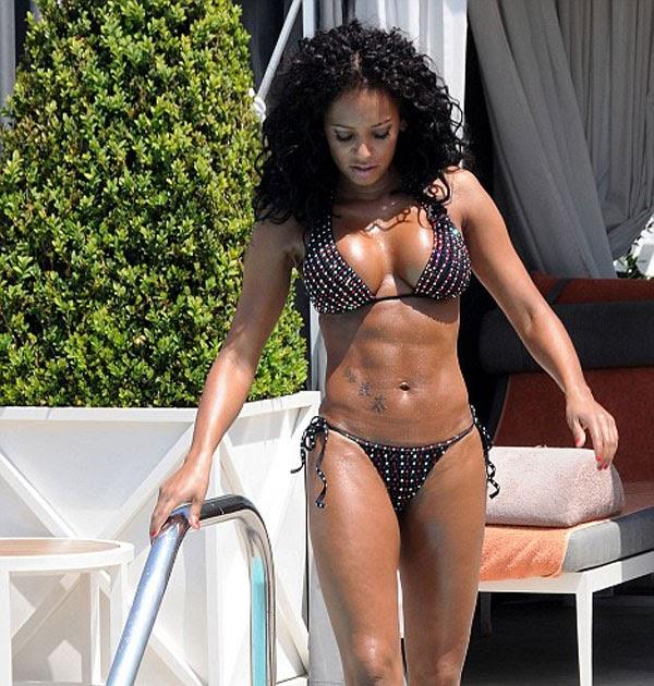 spice girl mel b bikini