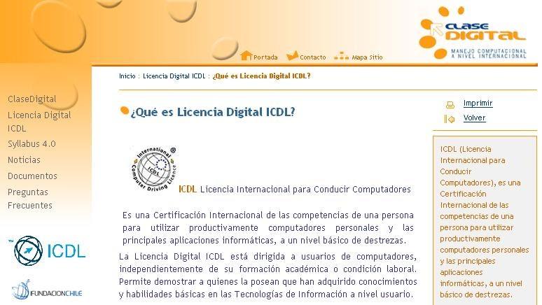 Licencia De Conducir Digital: Módulo Aplicaciones Informáticas 2009 Colegio Salesiano