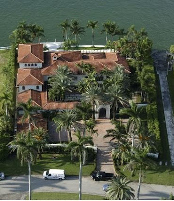 Cher's house(former) - Miami Beach real estate on La Gorce Island in Miami Beach Florida