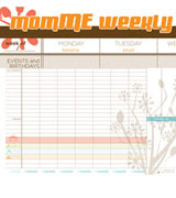 momME weekly planner