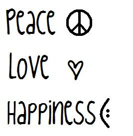Happy Quotes Pictures Wallpapers: Peace Love Happiness Quotes