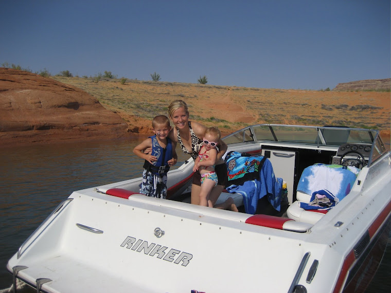 Lake Powell in July