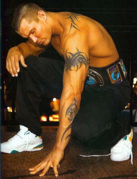 Tattoo design: Randy Orton With Tattoo