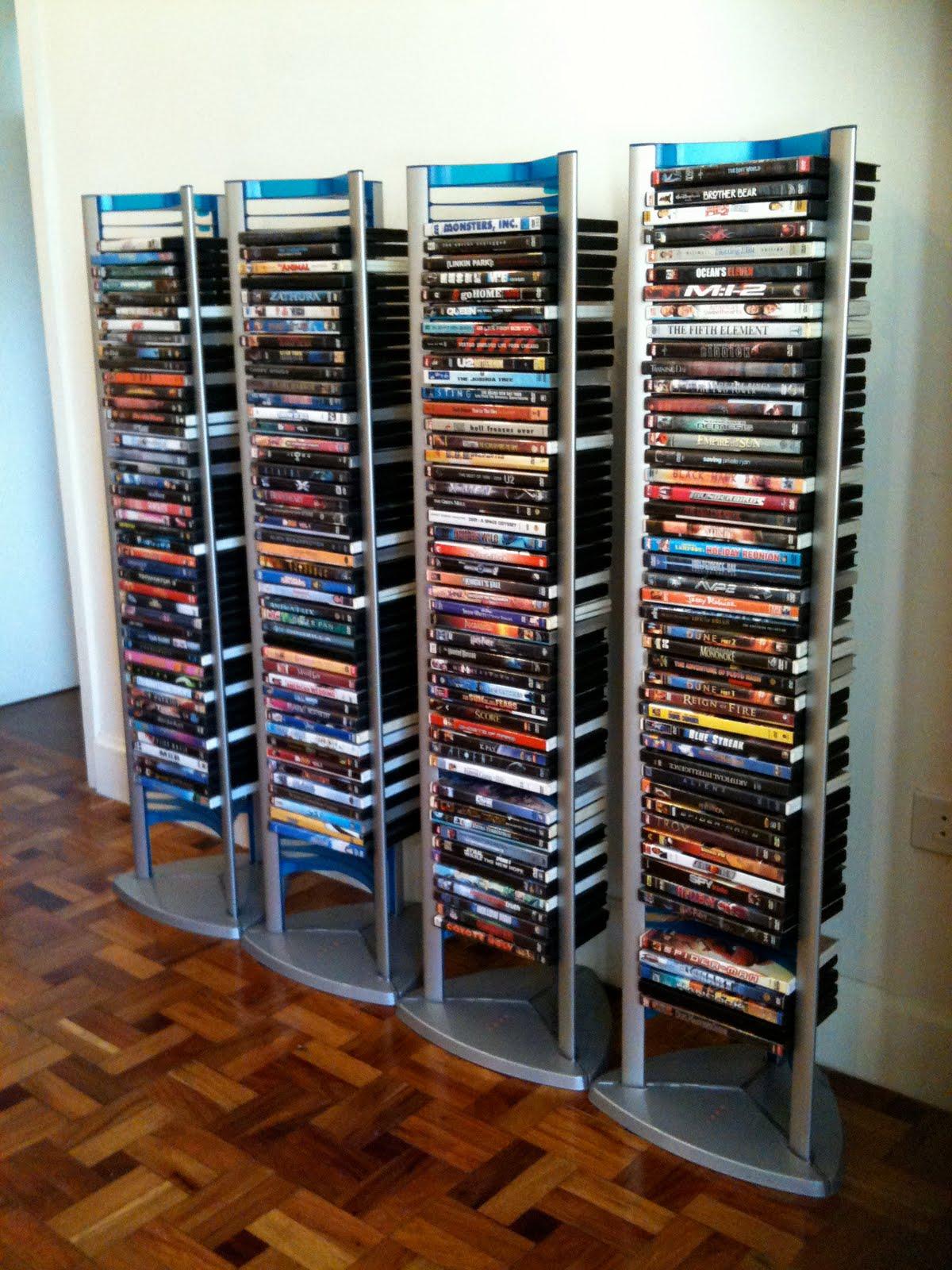 DVD Tower Rack