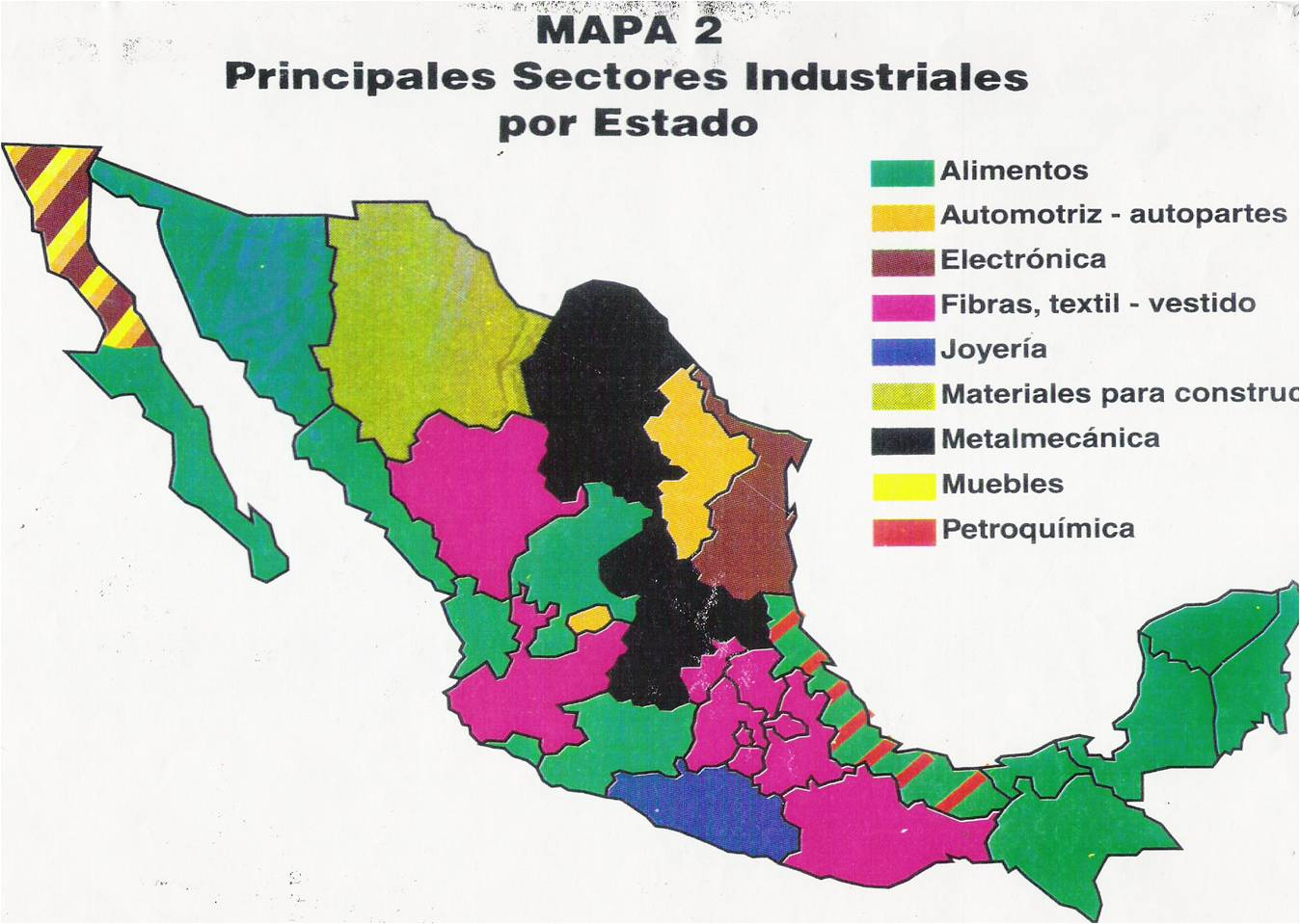 Pz c mapa de mexico - Tipos de espacios ...