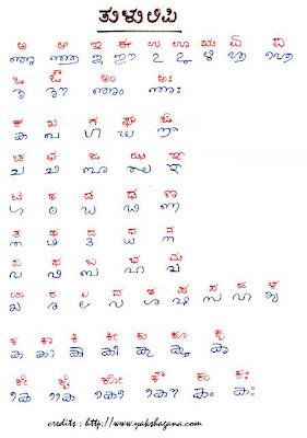 ಕೇಳೆನ್ನ ಮನದನ್ನೆ  : Tulu Language - Script and