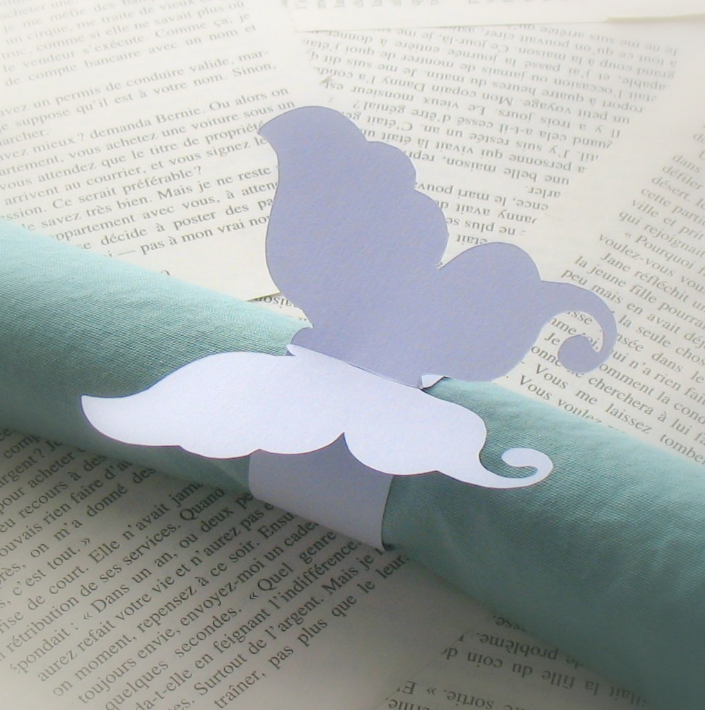 Fabulous Product Elegant Paper Napkin Rings