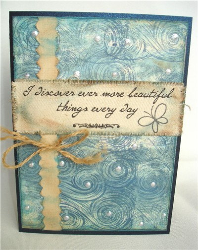 Accessories: Paper Flower - Making Memories Pearls - www.ellenhutson.com