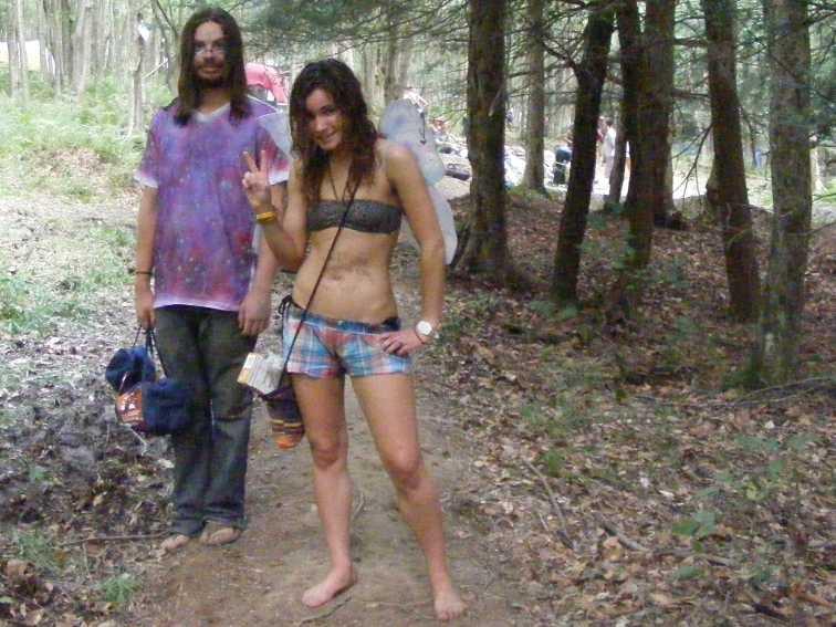 Hippie Teen Nude