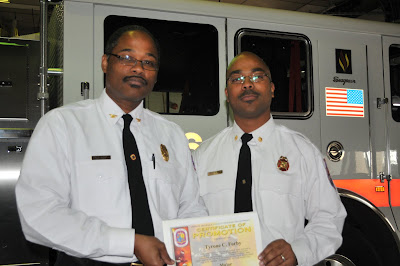 Congratulations are in order for five members of the Fire EMS Department  that received official notification they have been promoted. 6a88f6f3e0fd